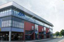 Fachmarktzentrum und Sportarena