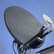 Duldung von Satellitenschüsseln